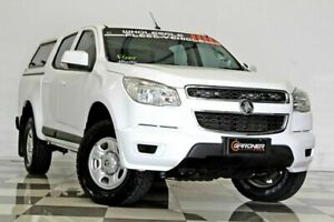 2015 Holden Colorado RG MY16 LS (4x4) White 6 Speed Automatic Crew Cab Pickup Burleigh Heads Gold Coast South Preview