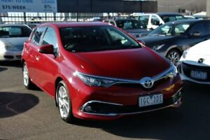 2015 Toyota Corolla ZRE182R Ascent Sport S-CVT Red 7 Speed Constant Variable Hatchback Cheltenham Kingston Area Preview
