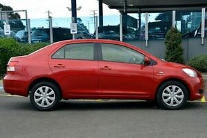 2007 Toyota Yaris Red Automatic Sedan Narre Warren Casey Area Preview