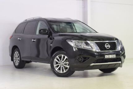 2015 Nissan Pathfinder R52 MY15 ST X-tronic 2WD Black 1 Speed Constant Variable Wagon Wadalba Wyong Area Preview