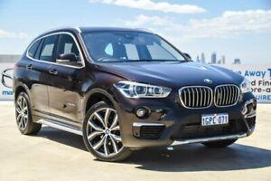 2017 BMW X1 F48 sDrive18d Steptronic Brown 8 Speed Sports Automatic Wagon