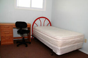 3 furnished female rooms,  May 1st, all-incl, free wifi