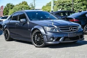 2009 Mercedes-Benz C-Class W204 C63 AMG Grey 7 Speed Sports Automatic Sedan Osborne Park Stirling Area Preview