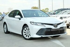 2018 Toyota Camry ASV70R Ascent Frosted White 6 Speed Sports Automatic Sedan