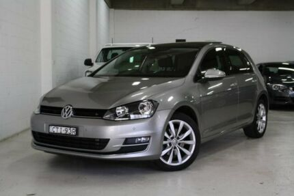 2014 Volkswagen Golf VII MY14 103TSI DSG Highline Silver 7 Speed Sports Automatic Dual Clutch Castle Hill The Hills District Preview