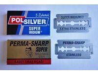 Double Edge Razor Blades For Sale - Brand New