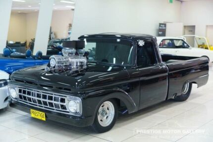1963 Ford F100 Black 3 Speed Automatic Single Cab Pick-up