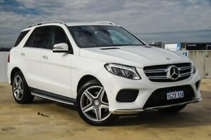 2016 Mercedes-Benz GLE-Class W166 GLE250 d 9G-Tronic 4MATIC White 9 Speed Sports Automatic Wagon Osborne Park Stirling Area Preview
