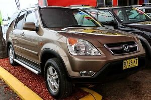 2002 Honda CR-V RD MY2002 Sport 4WD Gold 5 Speed Manual Wagon Colyton Penrith Area Preview