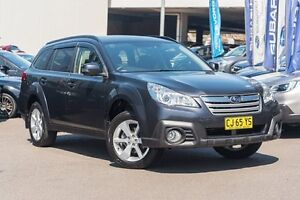 2013 Subaru Outback B5A MY13 2.5i Lineartronic AWD Grey 6 Speed Constant Variable Wagon Brookvale Manly Area Preview