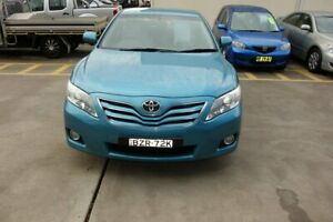 2010 Toyota Camry ACV40R MY10 Ateva Blue 5 Speed Automatic Sedan East Maitland Maitland Area Preview