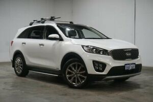 2017 Kia Sorento UM MY17 GT-Line AWD Snow White Pearl 6 Speed Sports Automatic Wagon Welshpool Canning Area Preview
