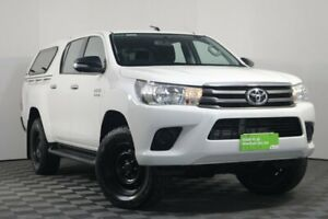 2016 Toyota Hilux GUN126R SR Double Cab White 6 Speed Sports Automatic Utility Wayville Unley Area Preview