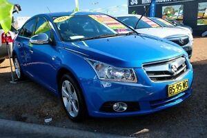 2011 Holden Cruze JG CDX Blue 6 Speed Sports Automatic Sedan Minchinbury Blacktown Area Preview