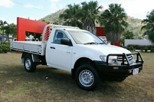 2013 Mitsubishi Triton MN MY13 GL 4x2 White 5 Speed Manual Cab Chassis Townsville Townsville City Preview