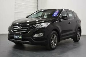 2015 Hyundai Santa Fe DM MY15 Active CRDi (4x4) Phantom Black 6 Speed Automatic Wagon Oakleigh Monash Area Preview