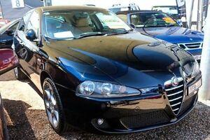 2006 Alfa Romeo 147 Series 4 Selespeed Hatchback 5dr 5sp 2.0i [MY05] Black Seq Manual Auto-Clutch Minchinbury Blacktown Area Preview
