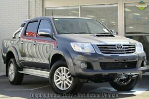2013 Toyota Hilux KUN26R MY12 SR5 Double Cab Charcoal Grey 4 Speed Automatic Utility Preston Darebin Area Preview