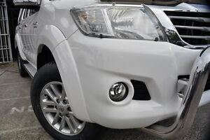 2014 Toyota Hilux KUN26R MY14 SR5 (4x4) White 5 Speed Automatic Dual Cab Pick-up Mosman Mosman Area Preview