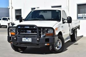 2004 Ford F350 RN XLT White 4 Speed Automatic Cab Chassis Berwick Casey Area Preview