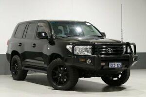 2012 Toyota Landcruiser UZJ200R 09 Upgrade Sahara (4x4) Black 5 Speed Automatic Wagon