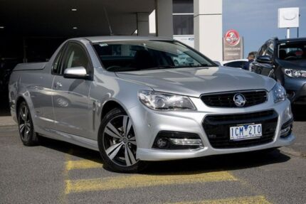 2014 Holden Ute VF MY14 SV6 Ute Storm Silver 6 Speed Sports Automatic Utility