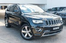 2014 Jeep Grand Cherokee WK MY15 Overland Black 8 Speed Sports Automatic Wagon Greenacre Bankstown Area Preview