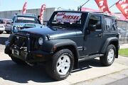 2008 Jeep Wrangler JK MY2008 Sport Green 5 Speed Automatic Softtop Altona North Hobsons Bay Area Preview