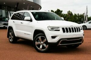 2016 Jeep Grand Cherokee WK MY15 Limited White 8 Speed Sports Automatic Wagon Wangara Wanneroo Area Preview
