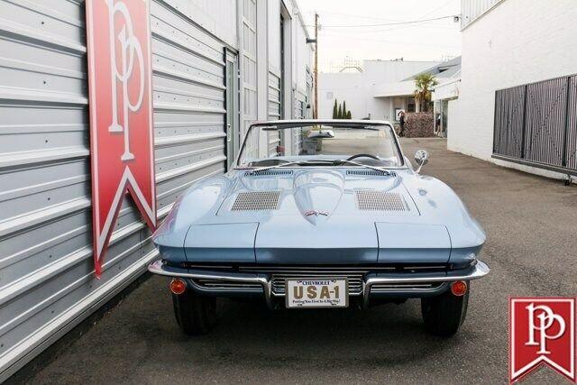 1963 Blue Chevrolet Corvette Convertible  | C2 Corvette Photo 8