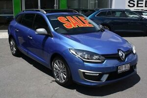 2014 Renault Megane III K95 Phase 2 GT-Line Sportwagon EDC Premium Blue 6 Speed Mount Gravatt Brisbane South East Preview
