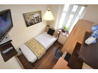Great Value for Money Single Room in London City with TV & LCD on Central Line Inc Bills