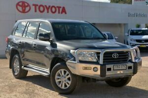 2012 Toyota Landcruiser URJ202R MY12 GXL (4x4) Grey 6 Speed Automatic Wagon Wyong Wyong Area Preview