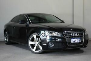 2011 Audi A5 8T MY11 S Tronic Quattro Black 7 Speed Sports Automatic Dual Clutch Coupe Bayswater Bayswater Area Preview