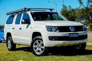 2015 Volkswagen Amarok 2H MY16 TDI420 4MOTION Perm Core White 8 Speed Automatic Utility Clarkson Wanneroo Area Preview