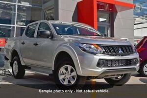 2016 Mitsubishi Triton MQ MY16 GLX+ Double Cab Sterling Silver 6 Speed Manual Utility Mount Gravatt Brisbane South East Preview