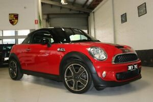 2012 Mini Coupe R58 Cooper S Red 6 Speed Manual Coupe West Melbourne Melbourne City Preview
