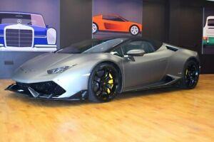 2016 Lamborghini Huracan Grey Sports Automatic Dual Clutch Convertible Southport Gold Coast City Preview