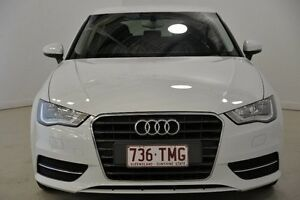 2013 Audi A3 8V Attraction Sportback S tronic White 7 Speed Sports Automatic Dual Clutch Hatchback Mansfield Brisbane South East Preview