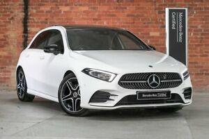 2019 Mercedes-Benz A-Class W177 A200 White Sports Automatic Dual Clutch Mulgrave Monash Area Preview