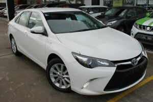2015 Toyota Camry AVV50R Atara S White 1 Speed Constant Variable Sedan Hybrid Hoppers Crossing Wyndham Area Preview