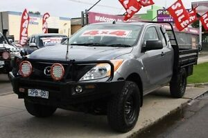 2013 Mazda BT-50 UP0YF1 XT Freestyle Grey 6 Speed Manual Cab Chassis Altona North Hobsons Bay Area Preview