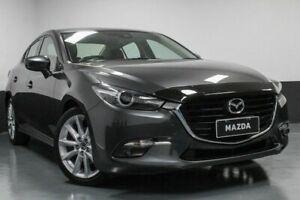 2016 Mazda 3 BM5238 SP25 SKYACTIV-Drive GT Grey 6 Speed Sports Automatic Sedan Hamilton East Newcastle Area Preview