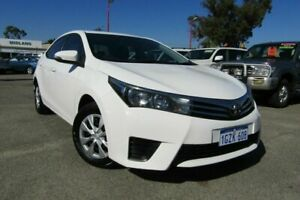 2014 Toyota Corolla ZRE172R Ascent S-CVT White 7 Speed Constant Variable Sedan Bellevue Swan Area Preview