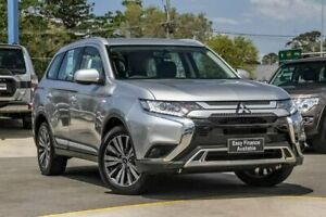 2018 Mitsubishi Outlander ZL MY19 ES AWD Silver 6 Speed Constant Variable Wagon Aspley Brisbane North East Preview