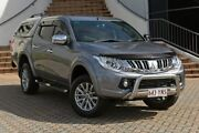 2015 Mitsubishi Triton MQ MY16 GLS Double Cab Grey 6 Speed Manual Utility Southport Gold Coast City Preview