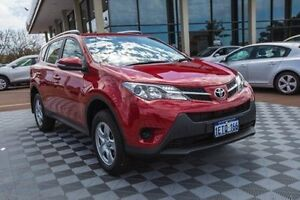 2015 Toyota RAV4 ZSA42R GX 2WD Red 7 Speed Constant Variable Wagon Alfred Cove Melville Area Preview