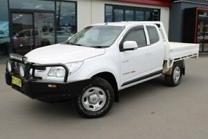 2014 Holden Colorado RG MY14 LX Space Cab White 6 Speed Manual Cab Chassis Goulburn Goulburn City Preview