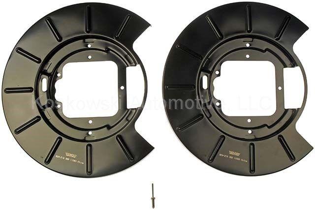Dorman 924-219 1PR.Rear R/&L Brake Dust Shield Backing Plate 5011982AA