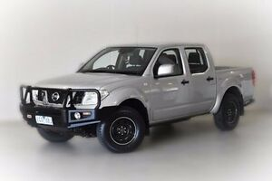 2012 Nissan Navara D40 S7 MY12 RX 4x2 Silver 6 Speed Manual Utility Narre Warren Casey Area Preview
